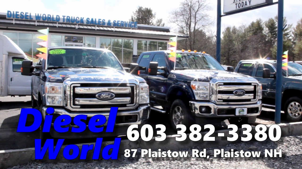 Diesel World Nh >> Diesel World Truck Sales 3 4 And 1 Ton Trucks Why Buy New