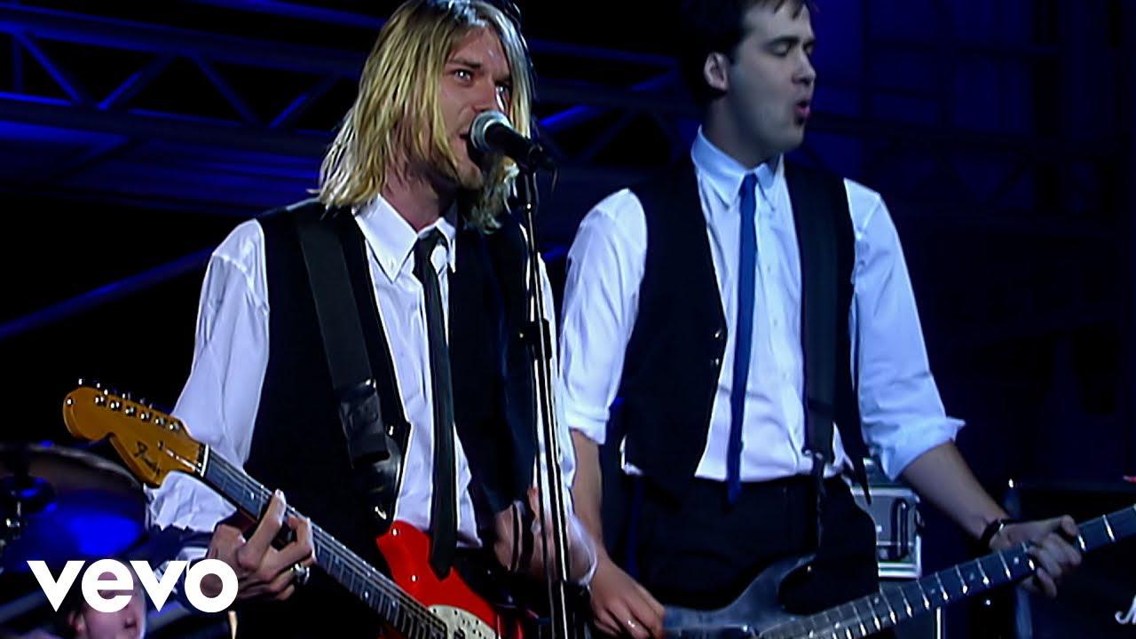 """Download Nirvana - Drain You (Live On """"Nulle Part Ailleurs"""", Paris, France/1994)"""