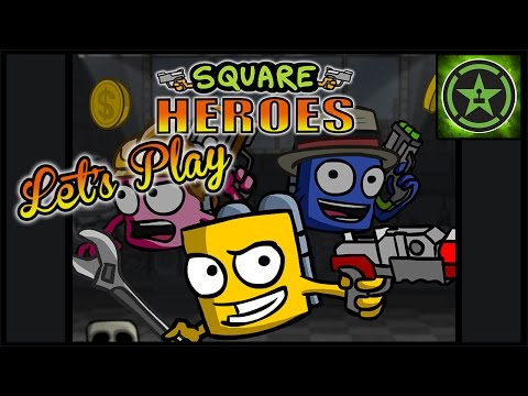 Let's Play - Square Heroes