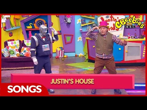 CBeebies Songs | Justin's House | Theme Tune Karaoke