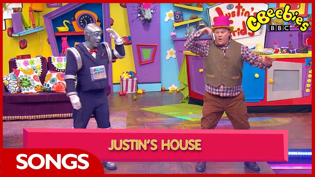 CBeebies Songs | Justin's House | Theme Tune Karaoke