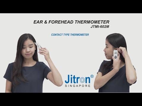 JITRON EAR & FOREHEAD THERMOMETER JTMI-602M