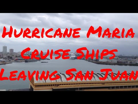 Hurricane Maria Cruise Ships Diverted from San Juan Puerto Rico to Ocho Rios Grand Cayman Cozumel