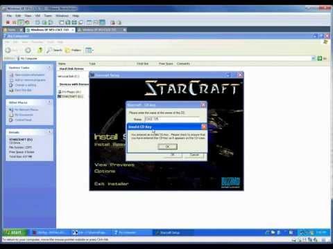 Starcraft Old CD Key Hack