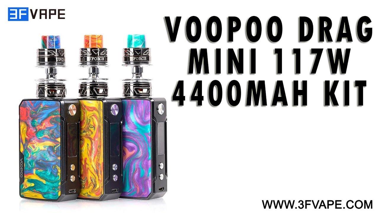 Voopoo Drag Mini 117W 4400mAh Kit
