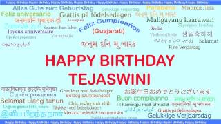 Tejaswini   Languages Idiomas - Happy Birthday