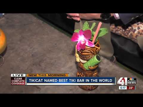 Imbibe in secluded paradise at KC's TikiCat, ranked among best tiki bars in the world