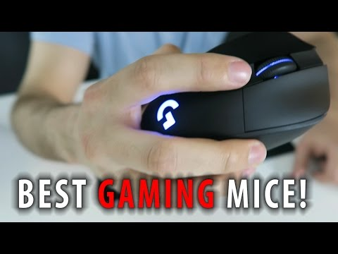 Best Gaming MICE - Selection Guide - ft. Logitech G403 & More!