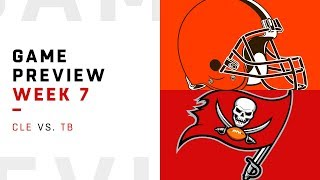 Cleveland Browns vs. Tampa Bay Buccaneers | Week 7 Game Preview | NFL Film Review