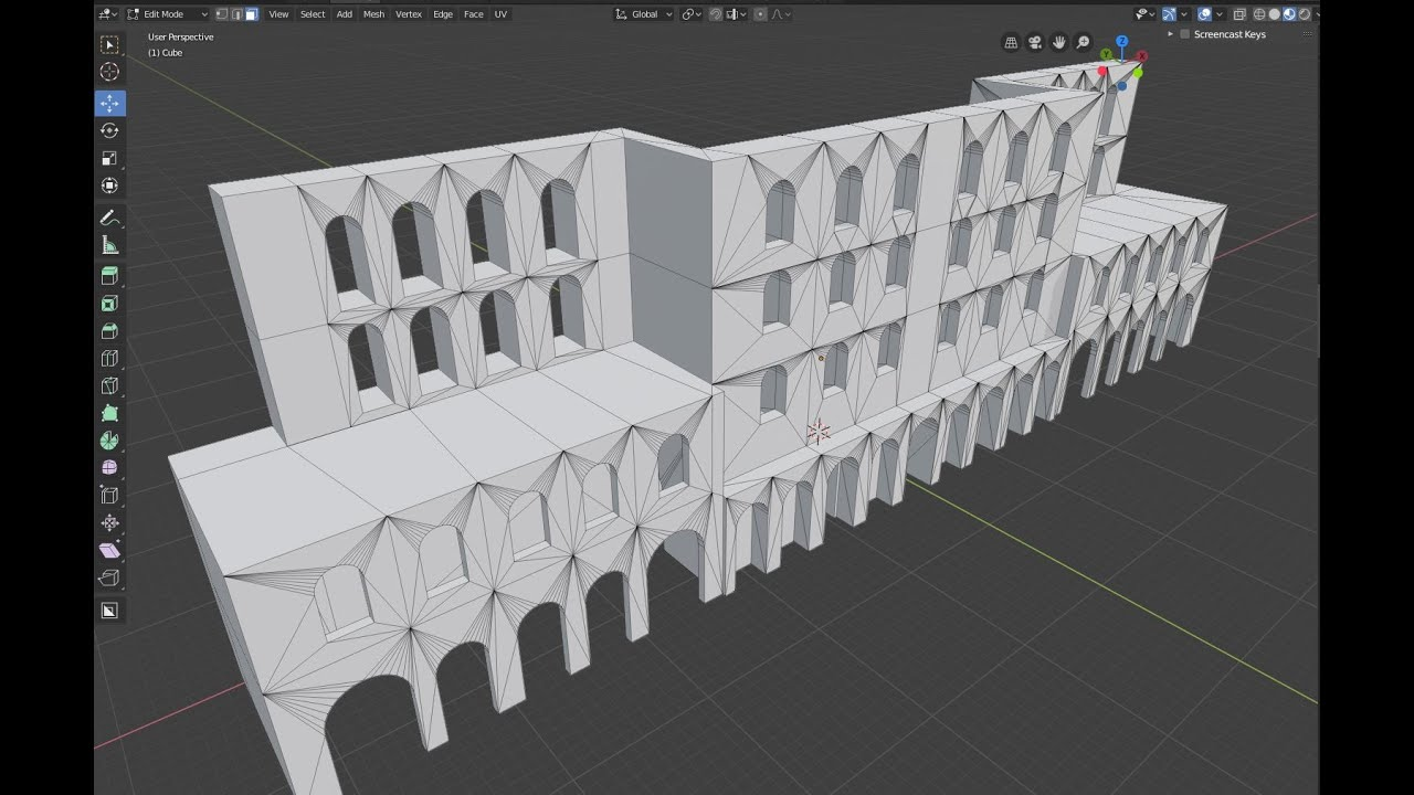 Learning Blender 2.8: Modeling Classical Greek Architecture