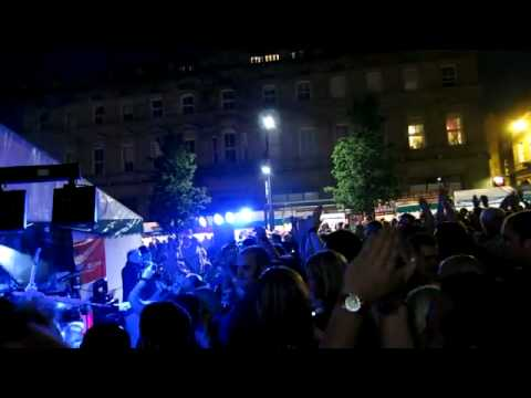 Storm Rock Band Finale - Huddersfield Food & Drink Festival - 2012