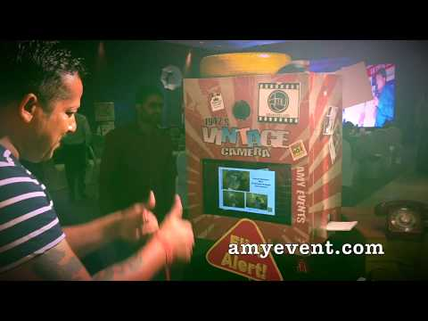 VINTAGE  Photo Booth Rentals -  Classic Style Parties or Events
