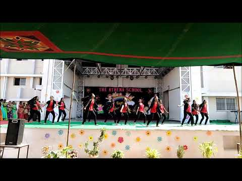 U Turn Song Performance By Athenites On Children's Day 2018-19