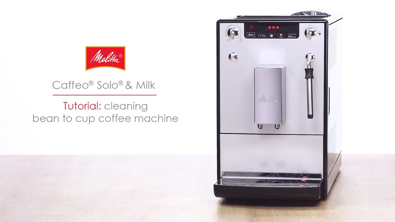 Caffeo Solo Milk Tutorial Cleaning Bean To Cup Coffee Machine
