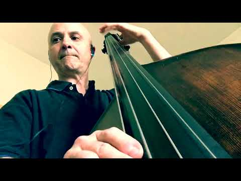 On Green Dolphin Street (in Eb) Bass Line Play Along Backing Track