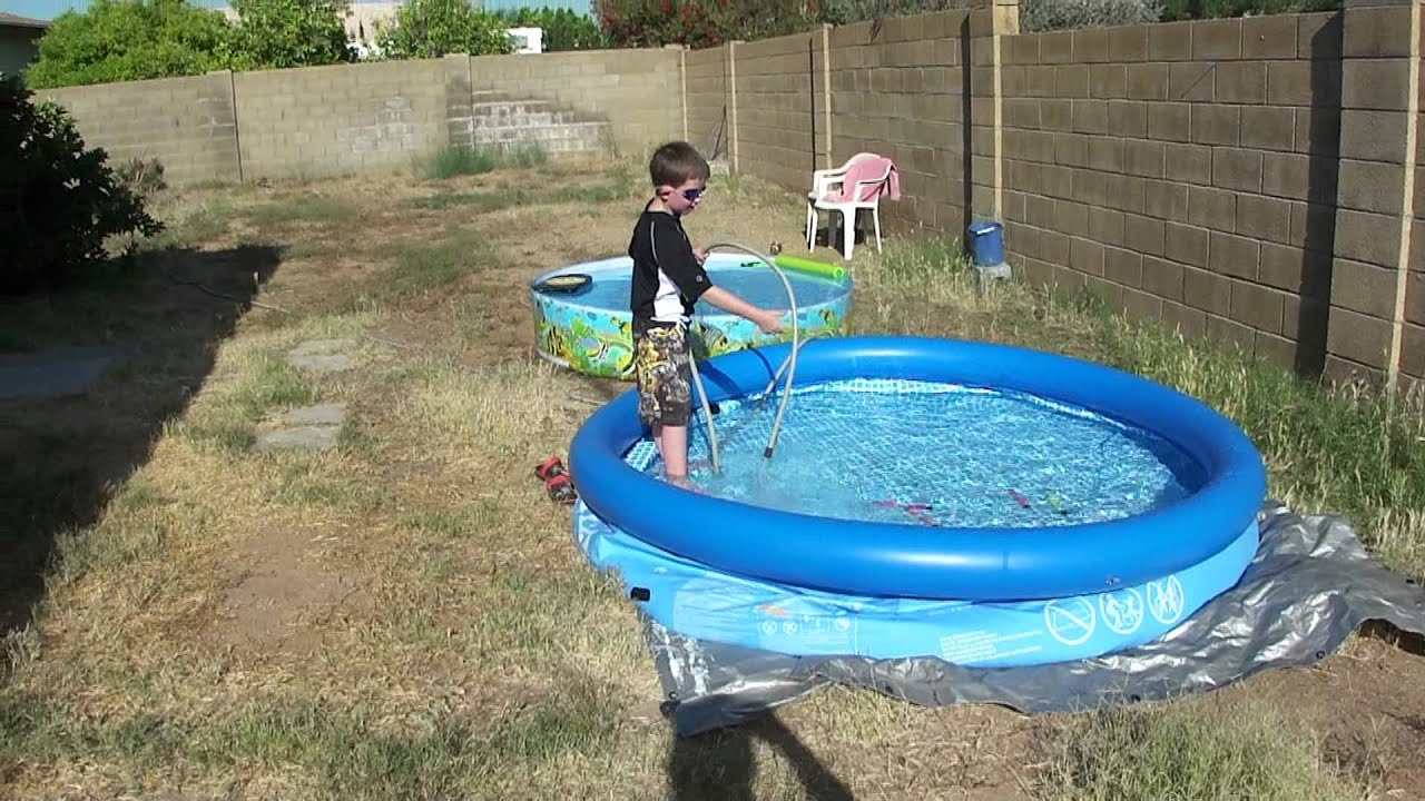 Daniel Trudell, Backyard Inflatable Pools 20100509163836.m2ts   YouTube