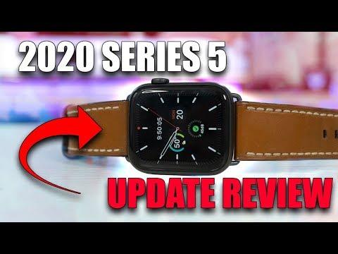 Apple Watch Series 5 2020 Update Review - 44mm Space Grey Nike