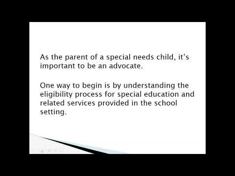 How you can Refer a young child for Special Education Testing