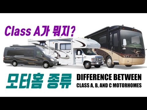Model  The Difference Between Class A B And C Motorhomes  YouTube