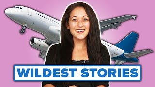 Download Flight Attendants Share Their Horror Stories Mp3 and Videos