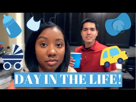 DAY IN THE LIFE!~NEW PARENTS W/ 9-5 JOBS RAISING AN INFANT