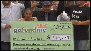 Donación de 380.000 dólares recibe mexicano que vende paletas en Chicago