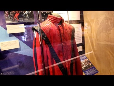 #538 The GRAMMY MUSEUM Michael Jackson Glove - Daze With Jordan The Lion (1/26/2018)