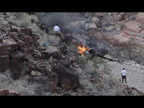3 Dead in Grand Canyon Helicopter Crash - LIVE BREAKING NEWS COVERAGE