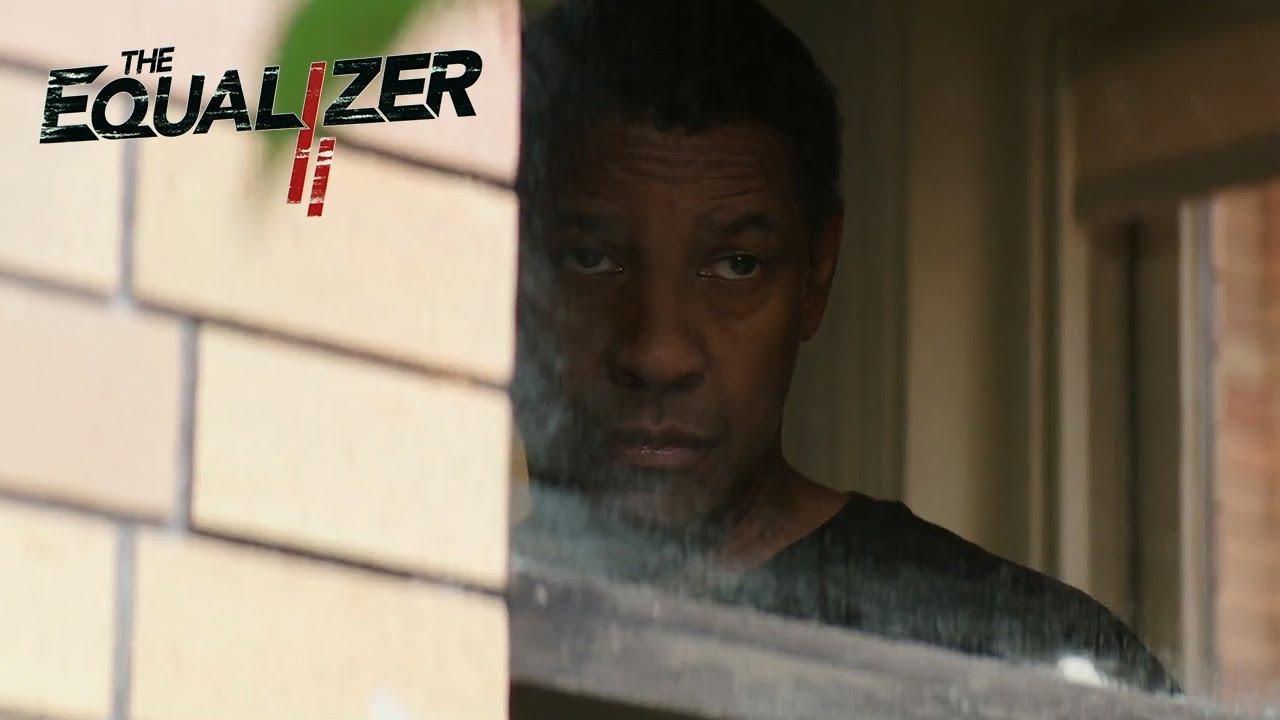 """THE EQUALIZER 2 - NBA Finals Spot - """"Denzel is Back"""""""