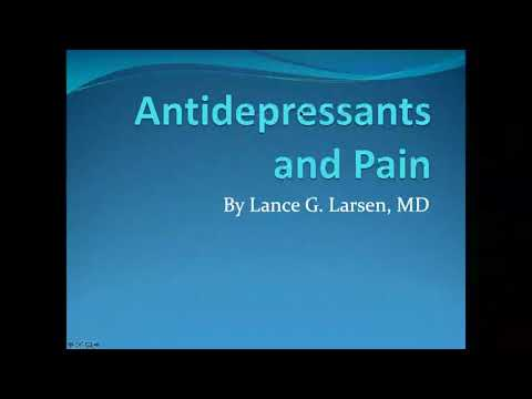 Antidepressants and Pain | March 2019