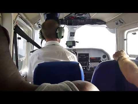 Landing in Montserrat on FlyMontserrat
