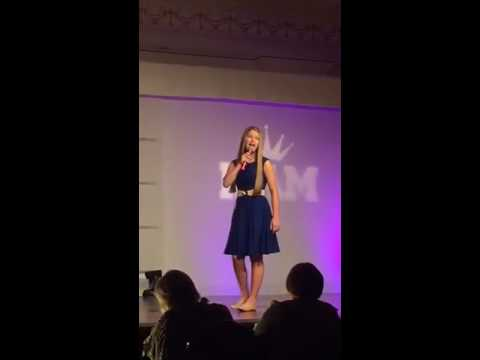 National American Miss (Louisiana, 2016) -Jr. Teen Talent Competition