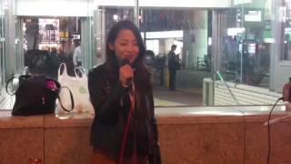 2016/10/24 難波5番出口にて路上ライブ   #クラウドファンディング 三...