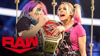 Asuka steps inside Alexa Bliss' playground: Raw, Jan. 18, 2021