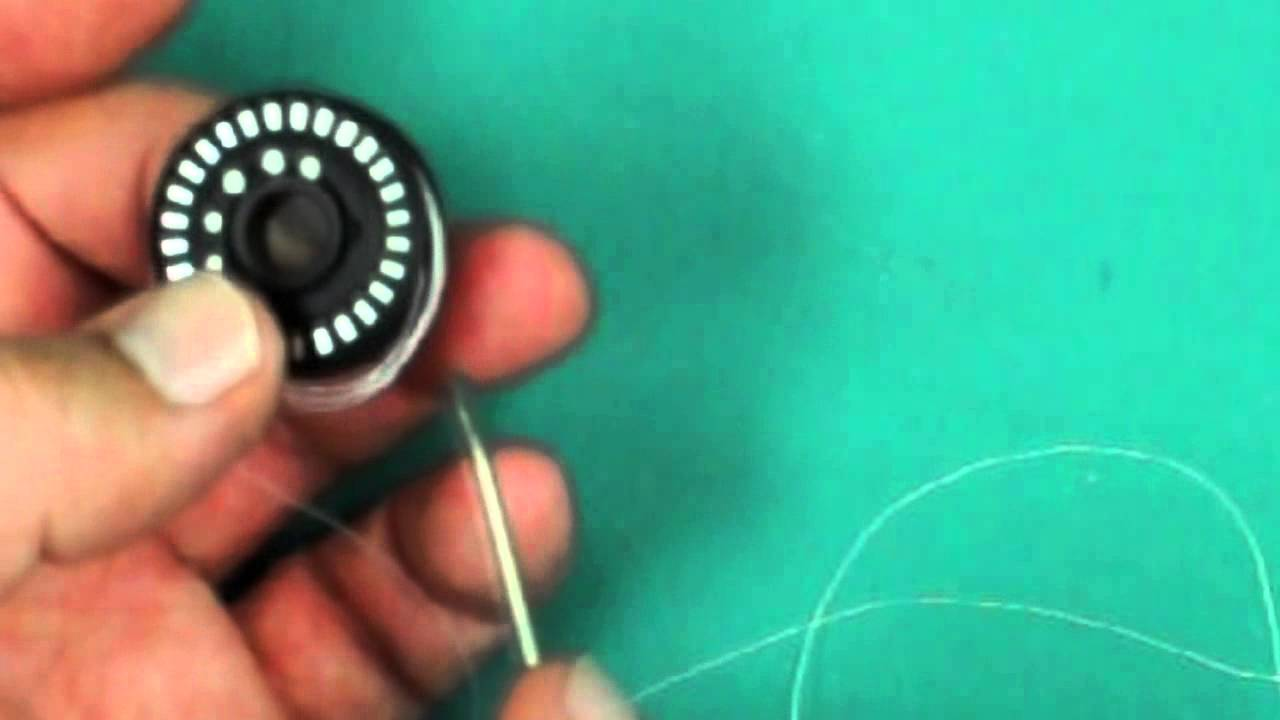How to insert the flat spring into your BERNINA bobbin case  Model 830/820,  640, 200, 730, 180, 1630