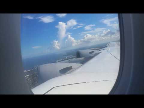 Lufthansa Airbus A380 Miami - Frankfurt