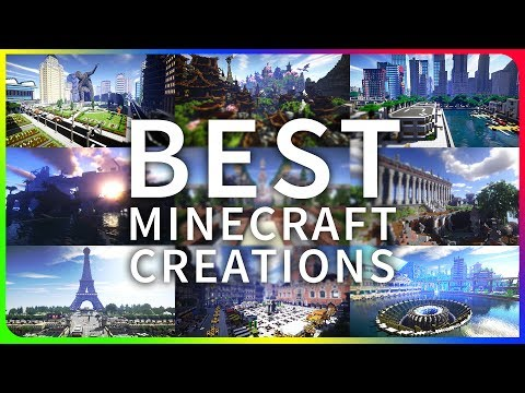THE BEST MINECRAFT CREATIONS EVER | JerenVids