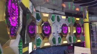 Cận cảnh phòng đang thi công. Cách đóng khối module led 3D vô cực. SX mảng khối led.LH 0902233771