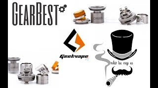 Geekvape Creed Rta from Gearbest - Παρουσίαση