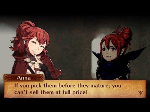 Fire Emblem Fates - Anna & Kana (Female) Support Conversations