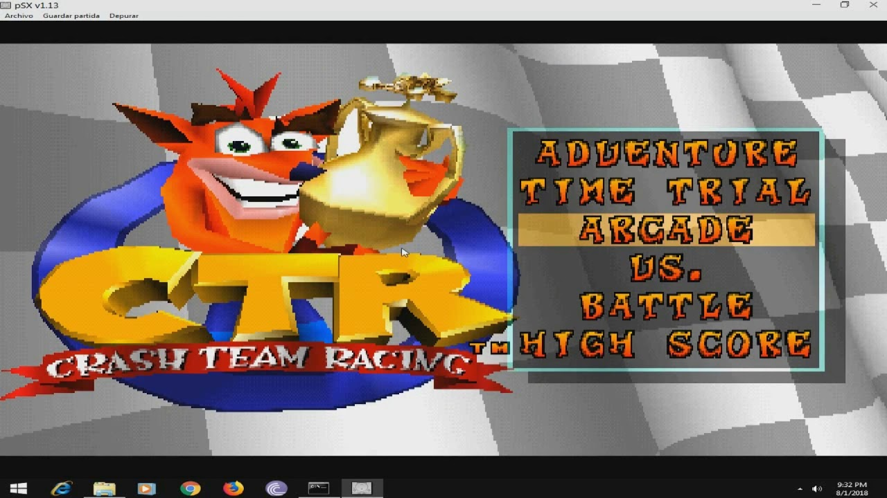 download game crash team racing ps1 untuk pc