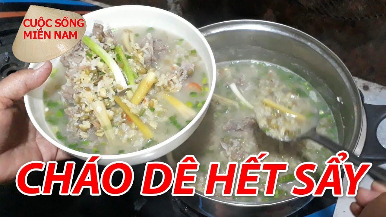 Cách làm MÓN Dê nấu CHÁO ĐẬU XANH | Nam Việt