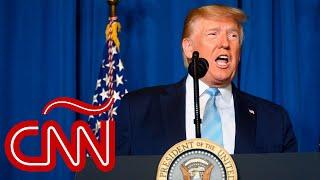 Trump sobre ataque que mató a Soleimani: Tomamos acción para evitar una guerra, no para comenzarla