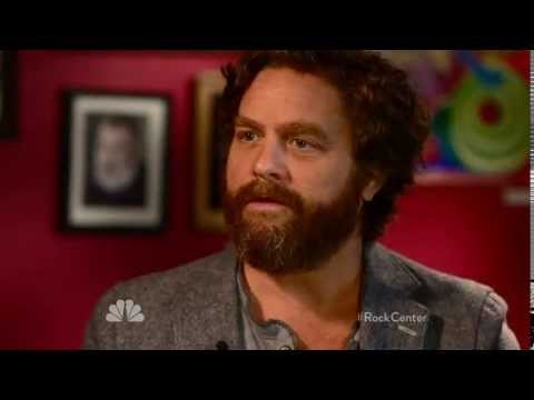Zach Galifianakis-Rock Center Interview on May 17, 2013