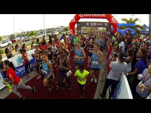 2017 Panama International Half Marathon Gatorade - 1 julio 2017