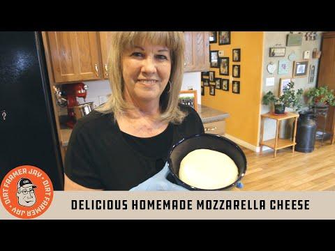 Delicious Homemade Mozzarella Cheese