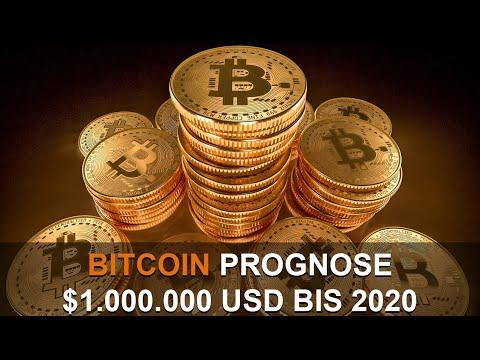 BITCOIN $1.000,000 USD BIS 2020 BEKRÄFTIGT