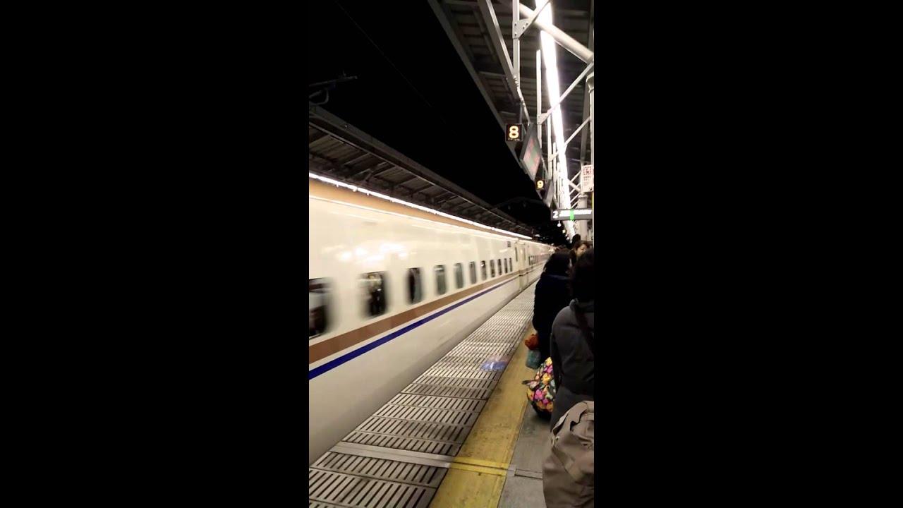 201602141851北陸新幹線淺間號輕井澤往東京 - YouTube