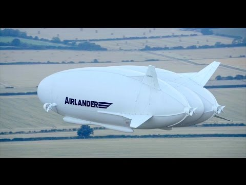 Hybrid Air Vehicles - British Airlander 10 First Flight [1080p]
