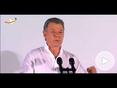 Palabras del Presidente Juan Manuel Santos durante la Ceremonia Protocolaria del Acuerdo de Paz